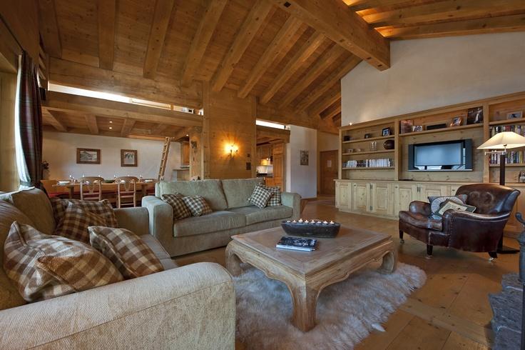 Bramble Ski: Le Daray  perfect coffee table!!