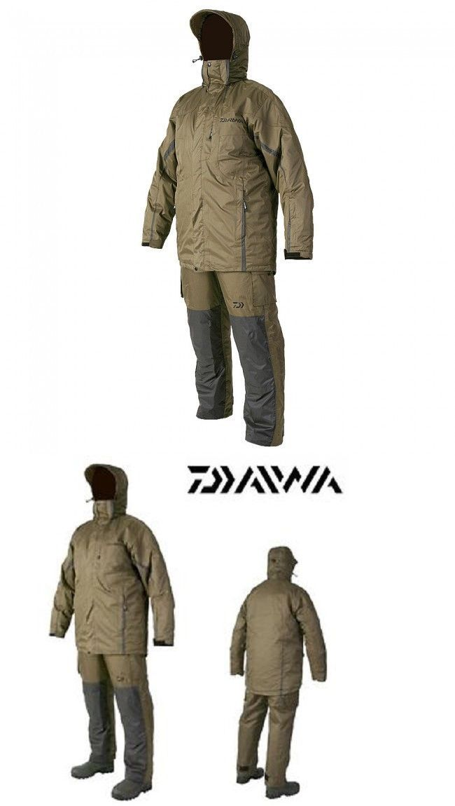 Jacket and Pants Sets 179981: New 2016 Daiwa Retex Waterproof 2Pc Suit - Sizes M - Xxl BUY IT NOW ONLY: $110.21