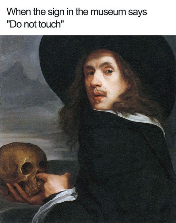 31 Hilarious Memes Funny Pics Of Sarcastic Humor Team Jimmy Joe Art Memes Classical Art Memes Self Portrait