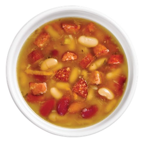 Kidney Bean Soup with smoked sausage from #YummyMarket