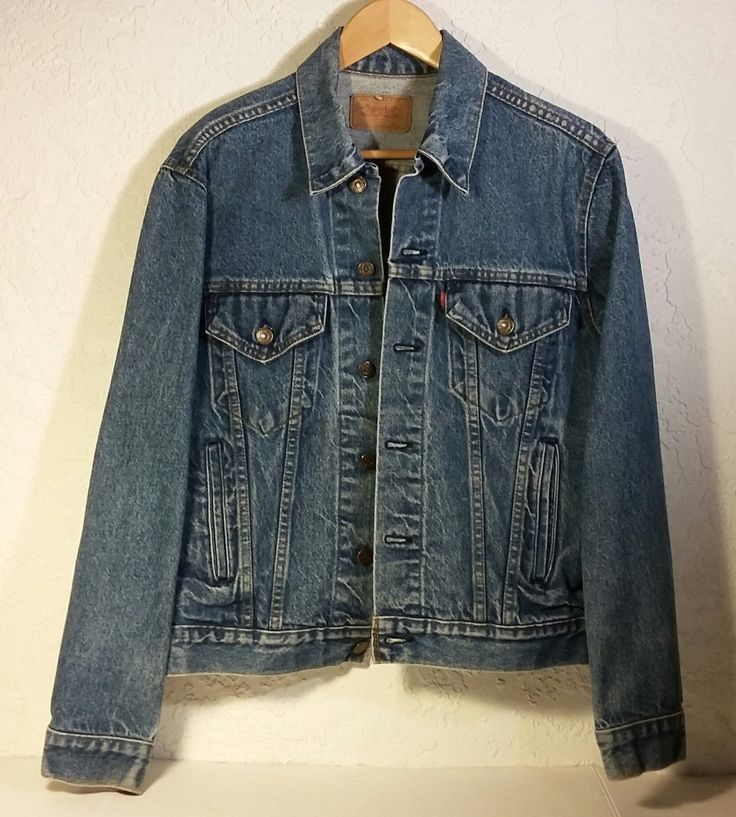Vintage Levi S Levi Strauss Amp Co Blue Denim Jean Jacket