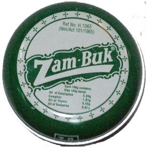 Zambuk-the real Makoya!! Fixes everyting from chapped lips, cuts and scratches, to itchy bites and bee stings.