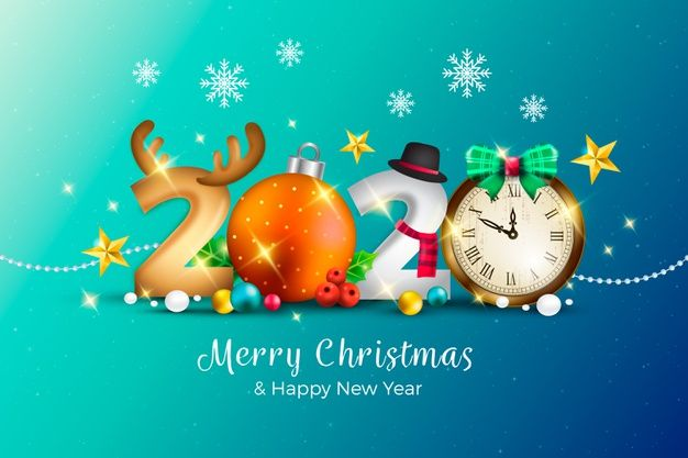 Download Realistic Funny New Year Background With Merry Christmas For Free Merry Christmas And Happy New Year Happy New Year 2020 Merry