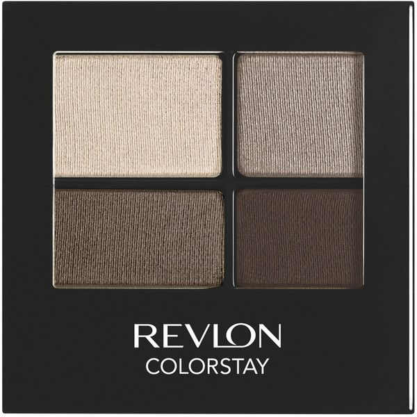 Revlon Colorstay 16 Hour Eyeshadow Quad - Addictive (17 AUD) ❤ liked on Polyvore featuring beauty products, makeup, eye makeup, eyeshadow, revlon eye shadow, revlon, revlon eyeshadow, revlon eye makeup and eye brow makeup
