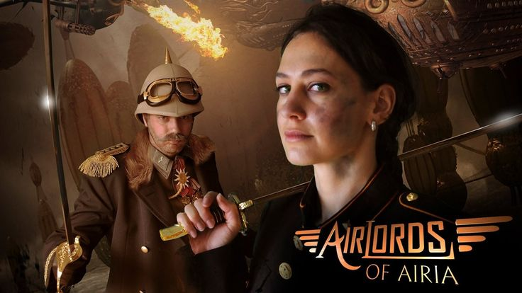 Airlords of Airia - Full Steampunk Short Film