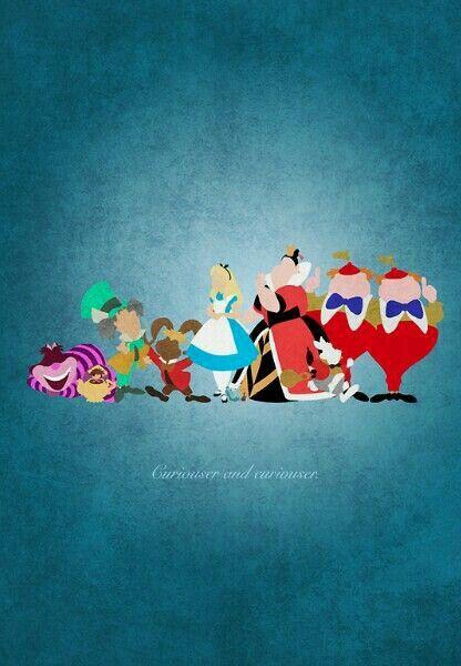 Alice personagens