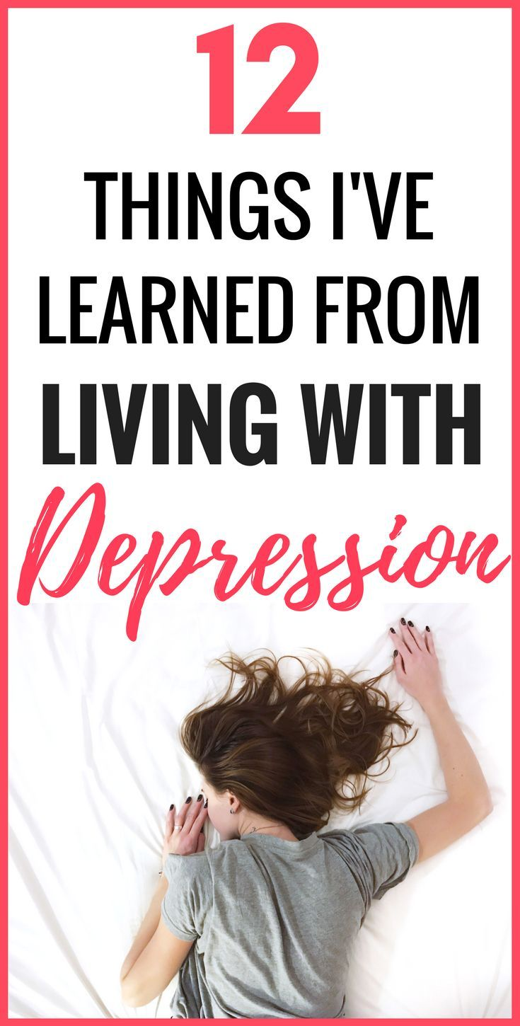 Living With Depression: 12 Things I've Learned | These are the things I've learned from living with depression and what being depressed is really like. Mental health illnesses and disorders can be very tough to live with but these are things I've learnt about depression and anxiety that can help your mood and mind and overall happiness. #mentalhealth #health #depression #anxiety #mood #illness #mind #selfhelp