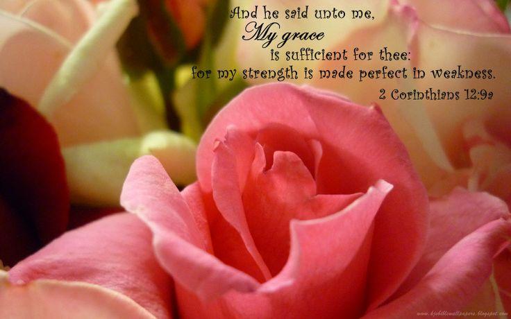 2 Corinthians 12:9a