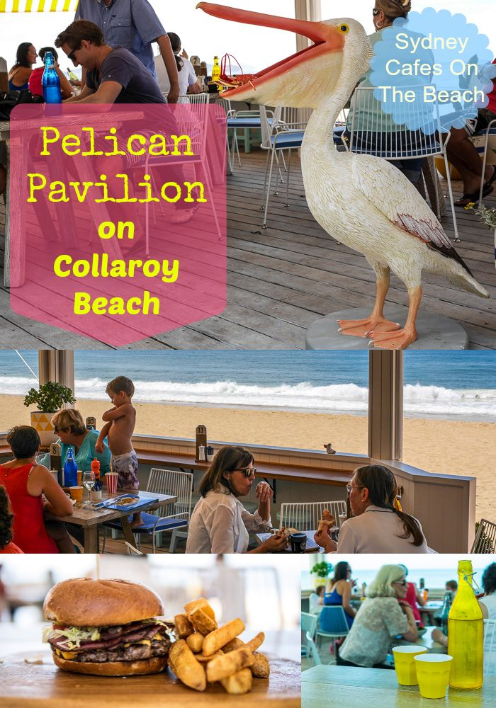 The newsPelican Pavilion Cafe At Collaroy Beach on Sydney's Northern Beaches... all the details you need are on this review on my blog.  This great beachside cafe used to be known as the Deck, it's just been re-launched. Great for families!
