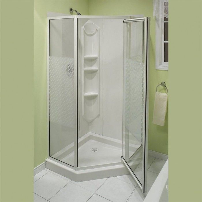 17 best ideas about small shower stalls on pinterest for Bathroom enclosure designs