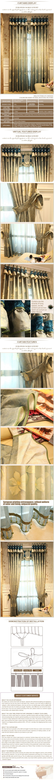 Luxury window curtain - Warm Flower $60  (70% off)