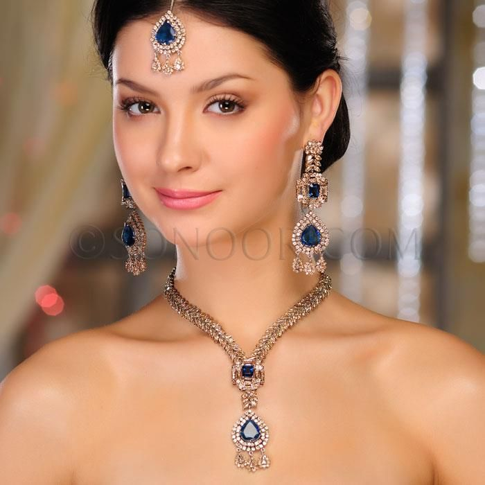 Latest Bridal Jewellery trends 2013 by Sonoor Jewels ...