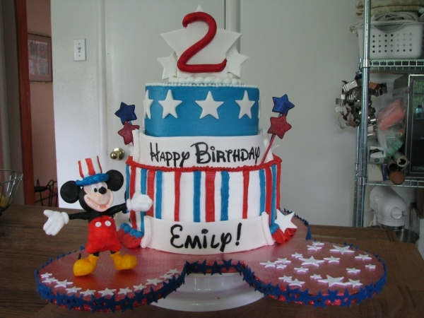 mickey mouse 4th of july clipart