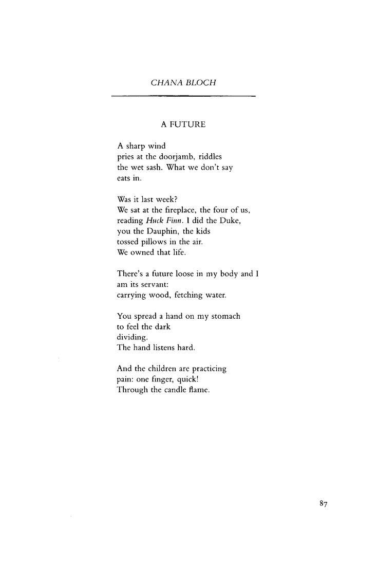 May 1989 : Poetry Magazine