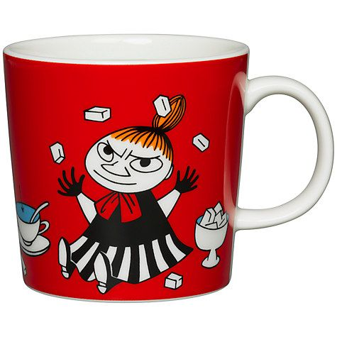 £15.95. Buy Finland Arabia Moomin Little My Mug, Red Online at johnlewis.com