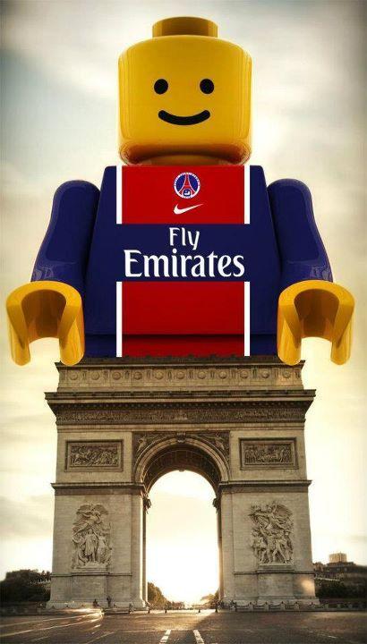 PSG Lego Arc de Triomphe Paris
