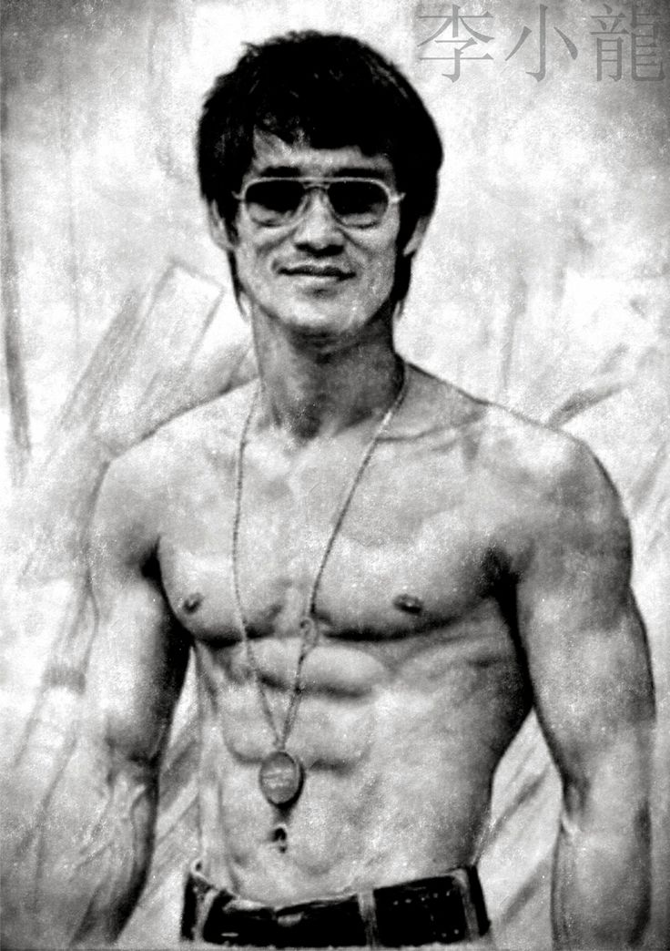 Buy Bruce Lee Black and White Poster Online in India. Shop for Merchandise at cheap & best prices with amazing quality at Posterduniya.com