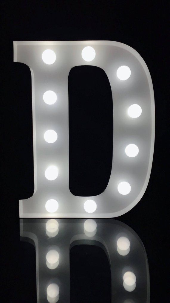 NEW Lighted Marquee Letter L Alphabet Symbol Lights Up Sign Party Wedding Decor