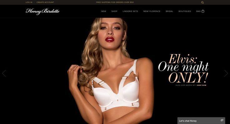 Honey Birdette http://shopify.cool/apparel/honey-birdette/?utm_campaign=coschedule&utm_source=pinterest&utm_medium=Shopify%20Cool&utm_content=Honey%20Birdette