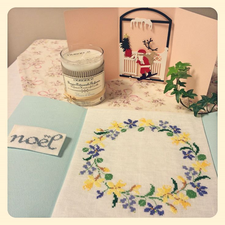 クリスマスに贈る「野の花リース」