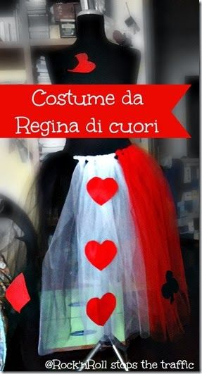 Rock 'n Roll stops the traffic: Un costume per la regina di cuori – DIY