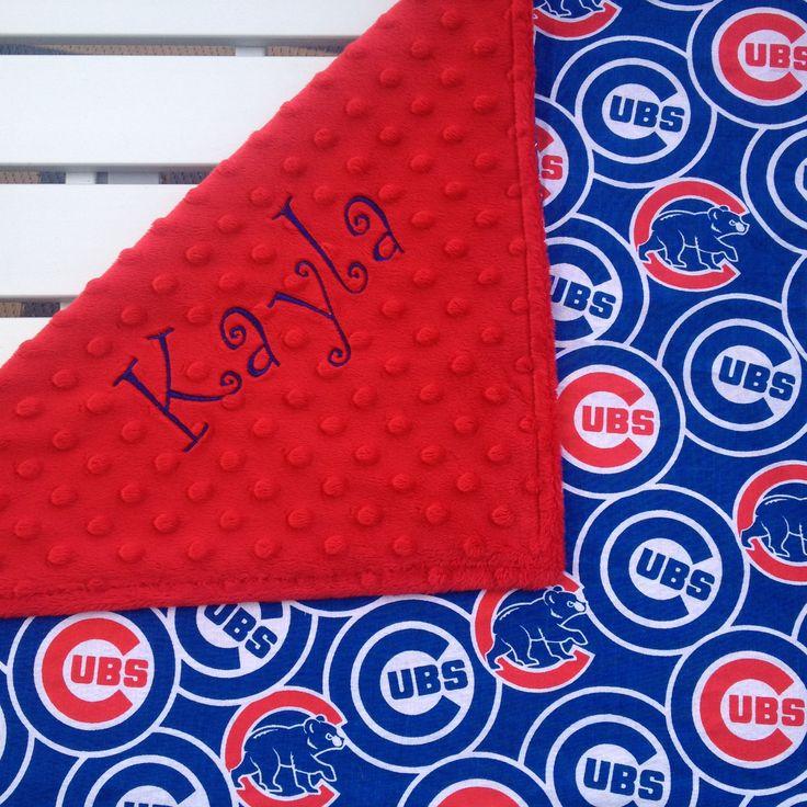 25 unique baseball baby blanket ideas on pinterest baseball chicago cubs baby blankets cubs baby blankets personalized baby blankets custom made negle Choice Image