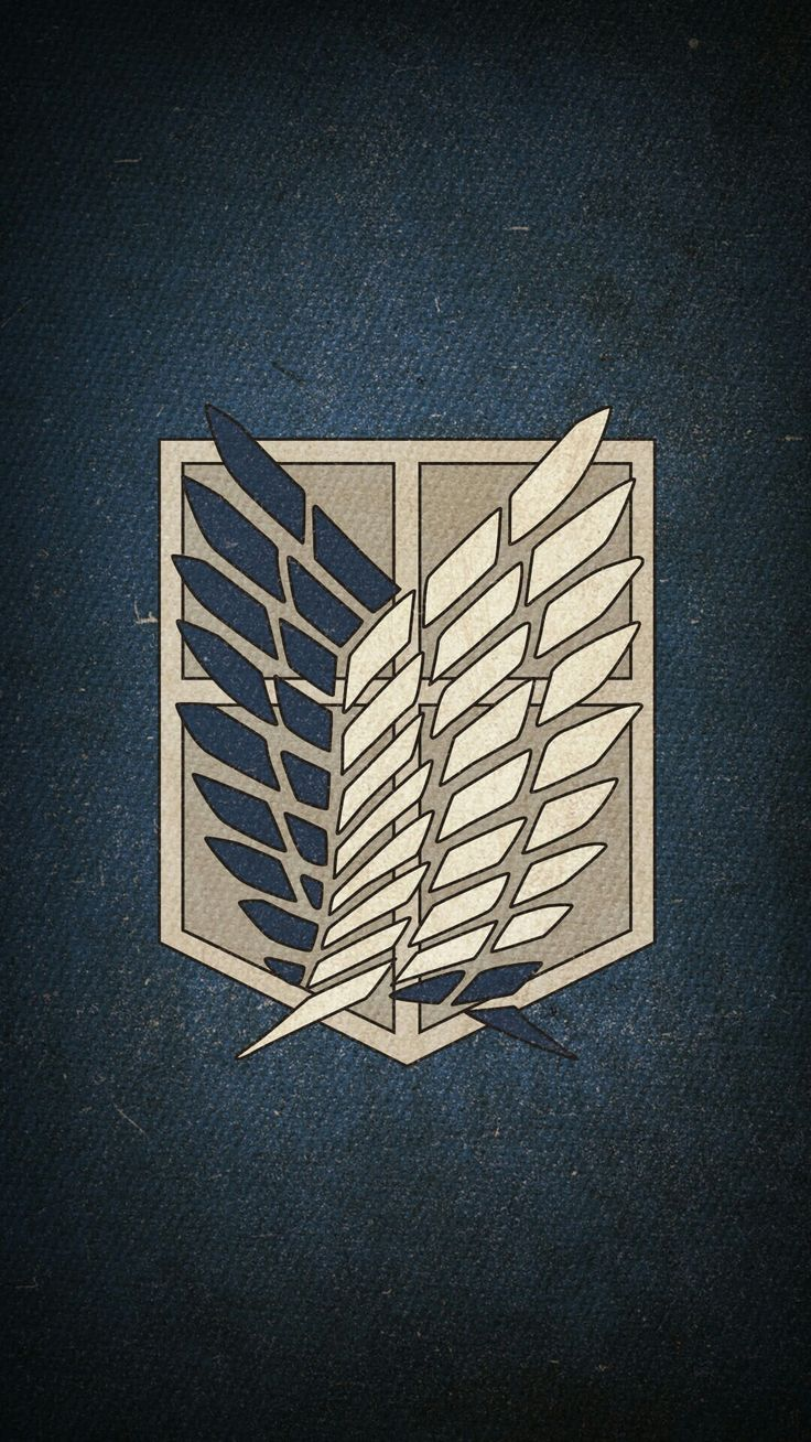 Атака титанов картинки гербы