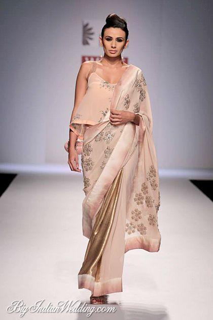 Nikasha Tawadey designer saree