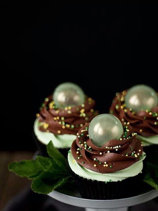 желатиновые пузыри для украшения капкейков