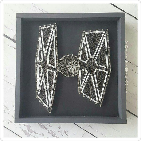 Star Wars Small String Art