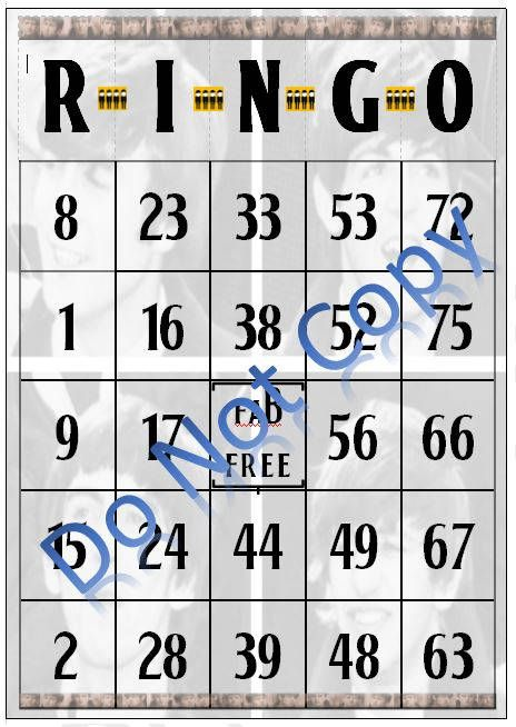 FABingo cards Digital PDF File, Instant Download  Whether you call out bingo! or ringo! youll enjoy playing this classic game with a Fab Four connection. Substitute the b with r and you are ready to play. The bingo cards are 5x7 (4 3/4 x 6 3/4 actual size) and are two per 8 1/2 x 11 page that allows ample room to cut for use. Use them for a classic game, download a bingo app for your handheld device to call out numbers, or use it with the Bingo skill on your Amazon Echo. Whethe...