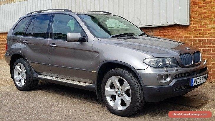 2005 BMW X5 3.0d 5dr PanoramicFull Black Leather #bmw #x5 #forsale #unitedkingdom
