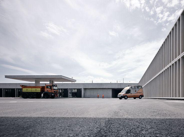 Motorway Maintenance Centre Salzburg,© Marc Lins