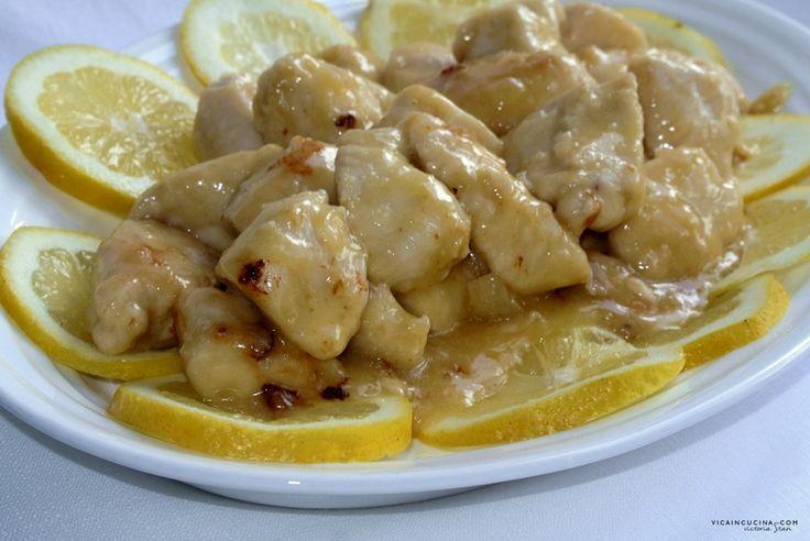 Bocconcini di pollo al limone | @vicaincucina