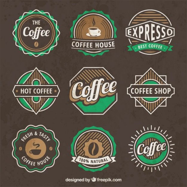 Vintage Cafe Logo By Lucia Hirthe In 2020 Coffee Logo Coffee Shop Logo Cafe Logo