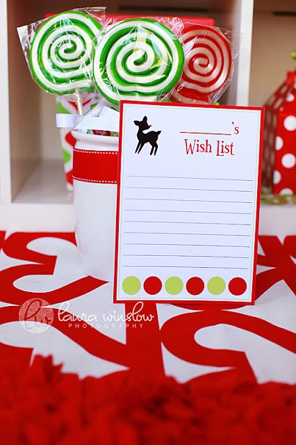 {Free Printables} Our Letter to Santa & Wish List on Hostess with the Mostess! | The TomKat Studio