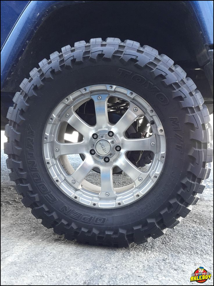 """37"""" #Toyo M/T #OpenCountry #tires on a #chrome #MB #wheel.  #Jeep #Wrangler #JK #axleboy #offroad"""