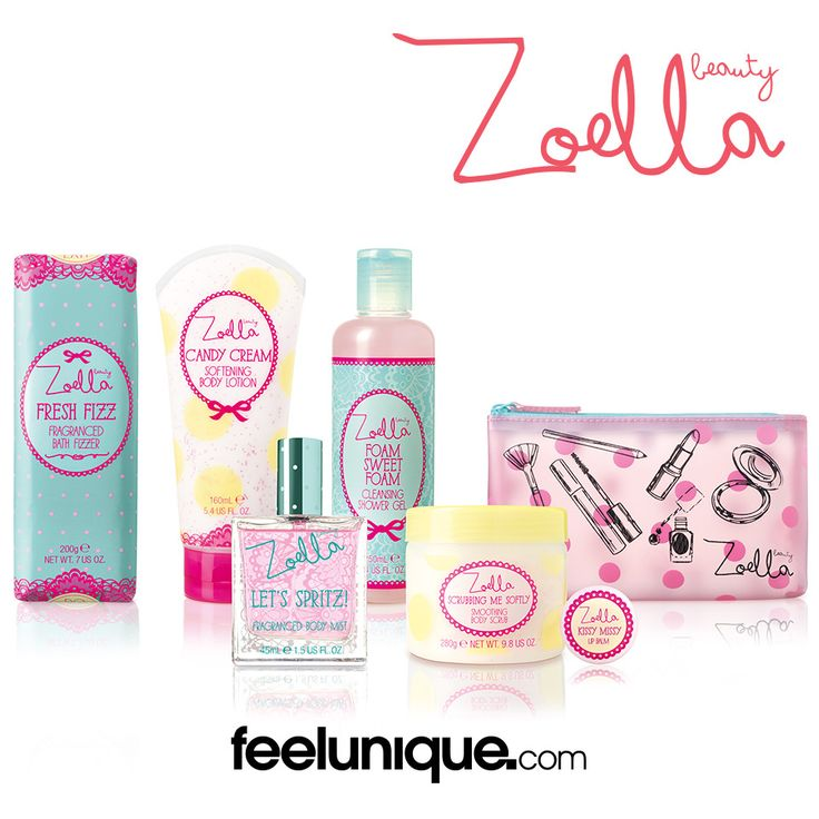 #Zoella's new #ZoellaBeauty #TuttiFruity range! http://www.feelunique.com/brands/zoella-beauty/tutti-fruity