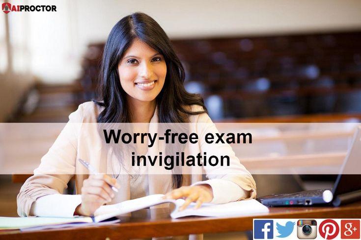 Worryfree exam invigilation. ArtificialIntelligence