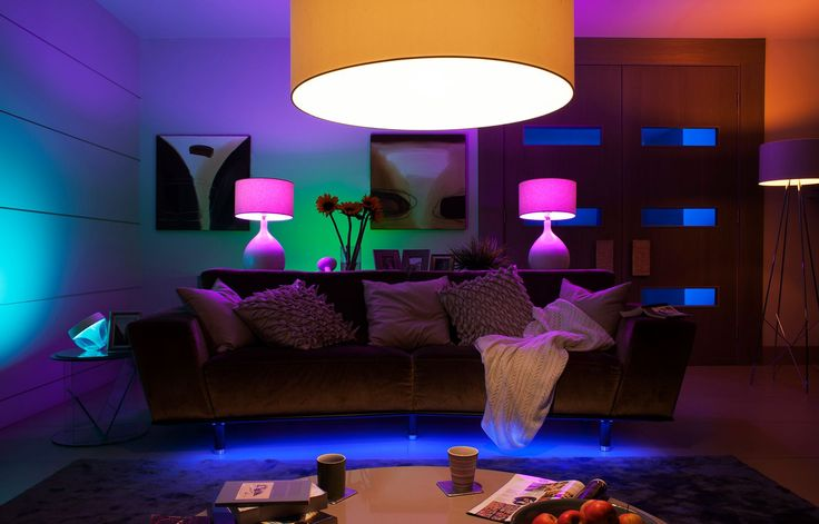 Philips HUE okosvilágítás, connected lighting, Smart Lighting. Beautiful colors with HUE!