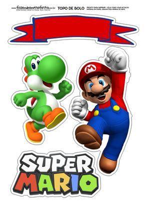 Uau! Veja o que temos para Topo de bolo Super Mario