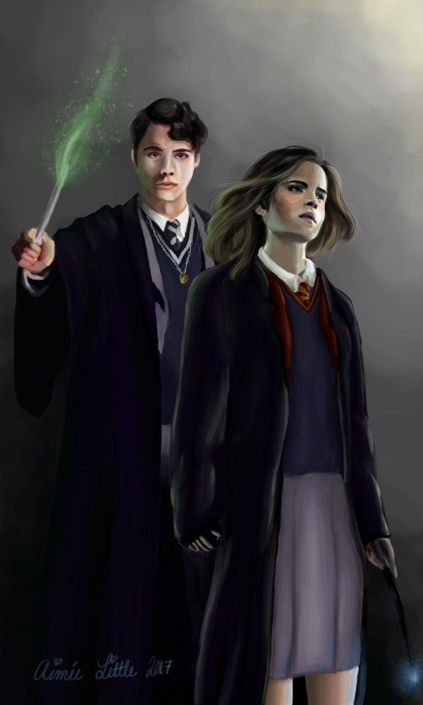 The Moment by androideighteen | Tom Riddle/Voldemort fanart