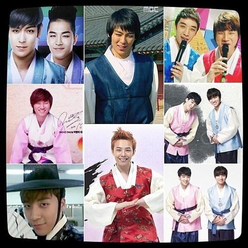 BIGBANG in 한복!