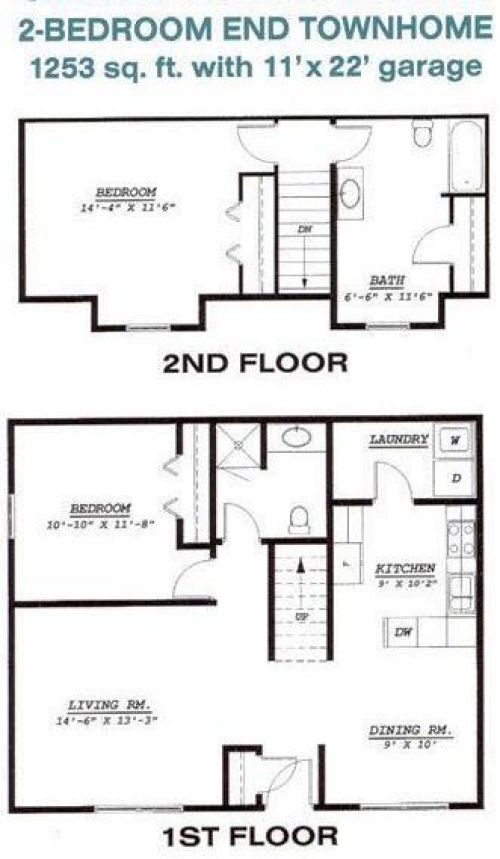 Townhomes at Charleswood   ApartmentsHQ
