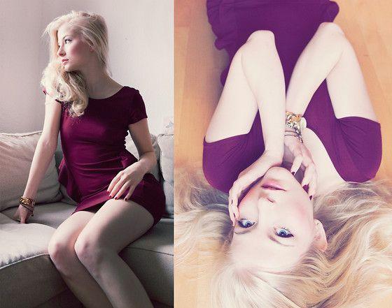 Zara Kleid, Michael Kors Uhr, H Armbänder, Manhattan Nagellack, Dior Lipgloss