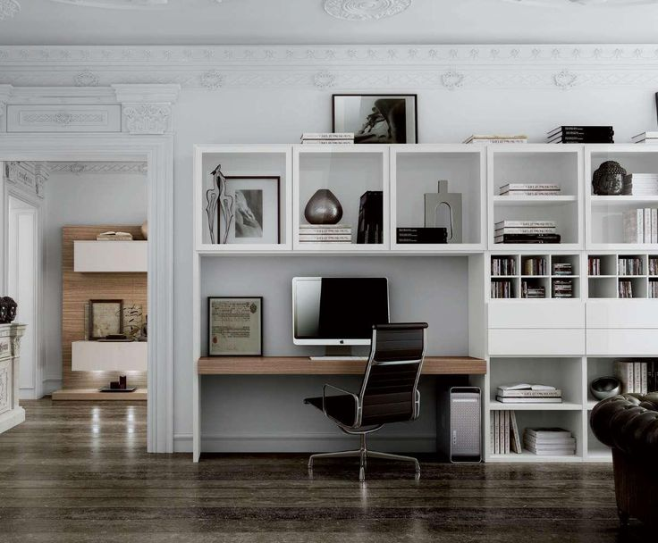 bibliotheque bureau integre conceptions de maison. Black Bedroom Furniture Sets. Home Design Ideas