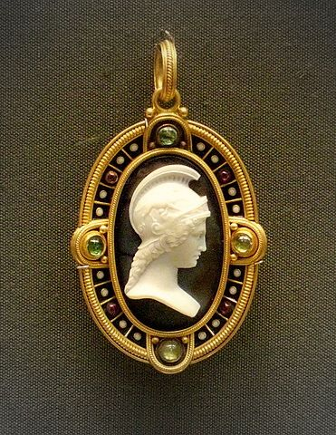 377 best cameos images on pinterest ancient jewelry antique british museum onyx cameo pendant mozeypictures Choice Image