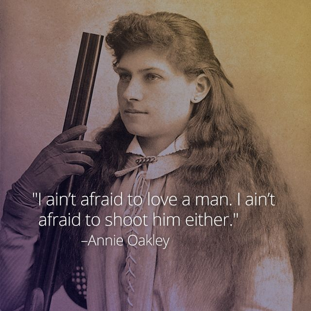 Born on August 13, 1860, Annie Oakley gained fame for her unparalleled shooting skills, later becoming the star of Buffalo Bill's Wild West Show for 17 years. By age 15, Oakley paid off the mortgage for her mother's home by shooting small game for a local grocery store. Watch this clip to learn more about the globally renowned folk hero: curiosity.com/...