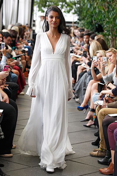 Wedding gown by Delphine Manivet