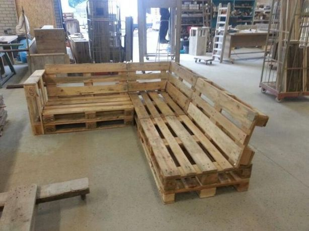 Palletmalet sectional